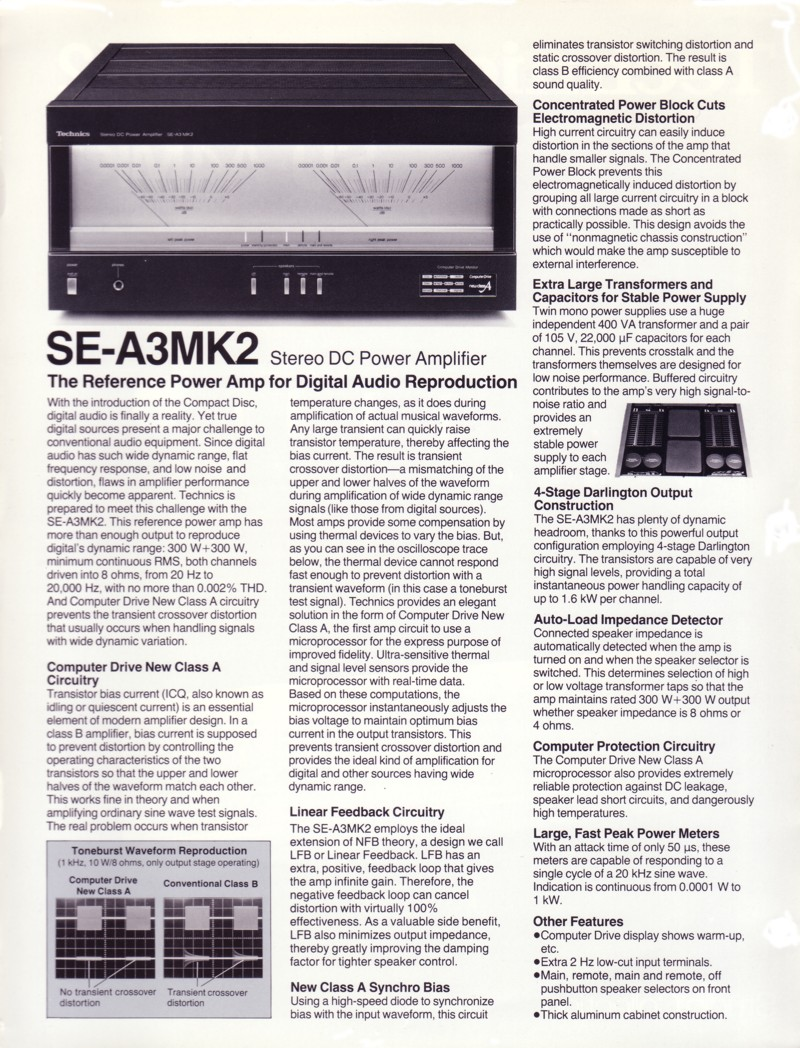 pictures se-a3mk2 specifications rated minimum sine wave rms